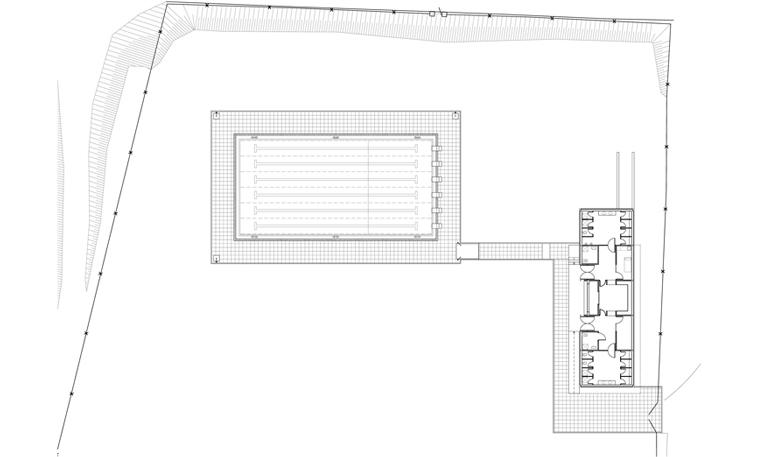 Planos de piscinas piscina borde madera planos de for Planos de piscinas temperadas